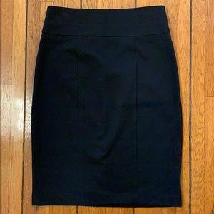 Arden B   Black Pencil Skirt
